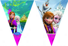 Disney Frozen Flag Banner